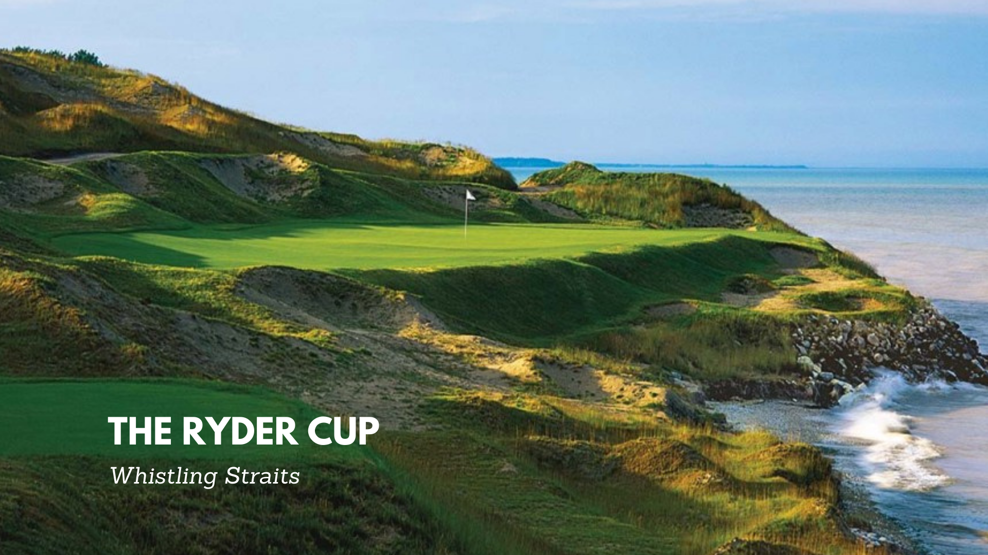Third Ryder Cup win for the Americans
